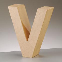 Kartonbuchstabe V, gross