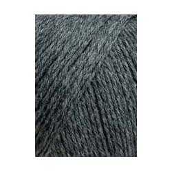 Wolle Merino 200 Bébé, dunkelgrau melange, 50g/203m