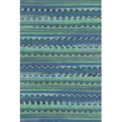 Wolle Merino 200 Bébé, blau-grün, 50g/203m