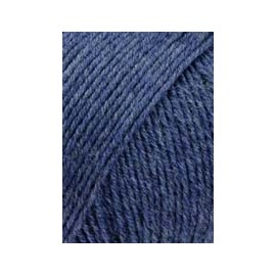"""Lang """"Merino 150"""", jeans dunkel melange"""