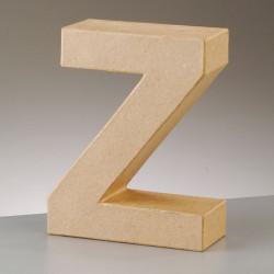 Kartonbuchstabe Z, gross