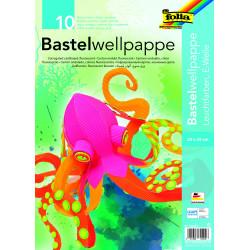 Bastelwellpappe, neon