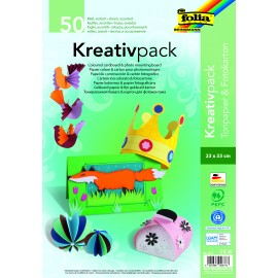 Kreativpack, Tonpapier und Fotokarton