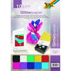 Glitterpapier, glänzend, 70g/m²