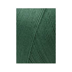 Lang Schulgarn tannengrün, 50g/160m