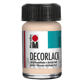 Decorlack Acryl, 15ml, rose-beige
