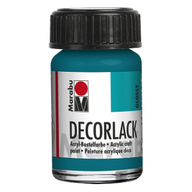 Decorlack Acryl, 15ml, türkis