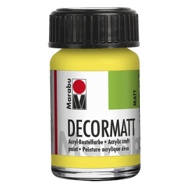 Decormatt Acryl, 15ml, zitron