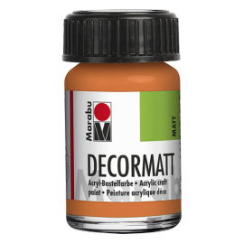 Decormatt Acryl, 15ml, orange