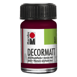 Decormatt Acryl, 15ml, bordeaux