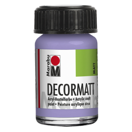 Decormatt Acryl, 15ml, lavendel