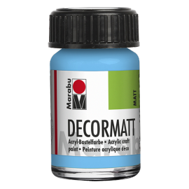 Decormatt Acryl, 15ml, hellblau