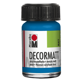 Decormatt Acryl, 15ml, azurblau