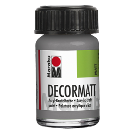 Decormatt Acryl, 15ml, hellgrau