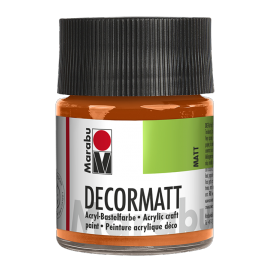 Decormatt Acryl, 50ml, orange