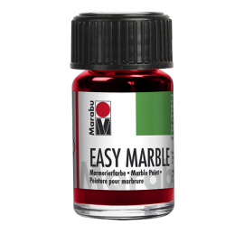 Easy Marble, 15ml, kirschrot