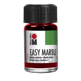 Easy Marble, 15ml, rubinrot