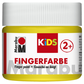 Fingerfarbe, 100ml, gelb