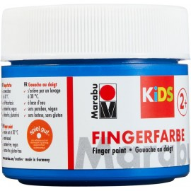 Fingerfarbe, 100ml, blau