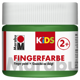 Fingerfarbe, 100ml, grün