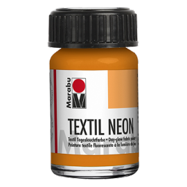 Marabu Textil, 15ml, neon-orange