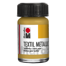 Marabu Textil, 15ml, metallic-gold