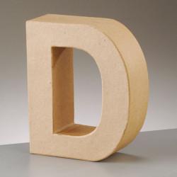 Kartonbuchstabe D, klein