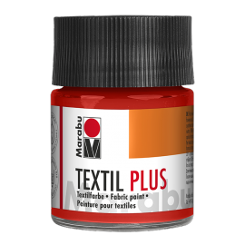 Marabu Textil plus, 50ml, zinnoberrot hell
