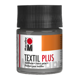 Marabu Textil plus, 50ml, grau