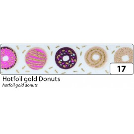 Washi-Tape, HOTFOIL GOLD Donuts