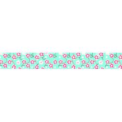 Washi-Tape, Blütenranke blau