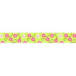 Washi-Tape, Blütenranke grün