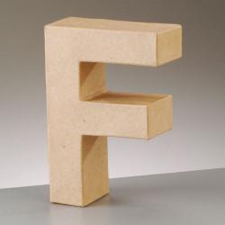 Kartonbuchstabe F, klein