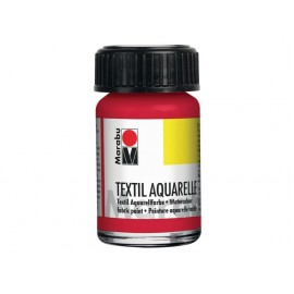 Textil Aquarell, 15ml, rot