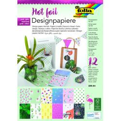 Designpapierblock HOTFOIL II 165g/m², DIN A4