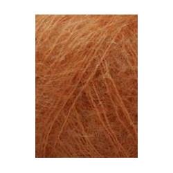 """Lang """"Mohair Luxe"""", dunkel orange"""