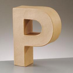 Kartonbuchstabe P, klein