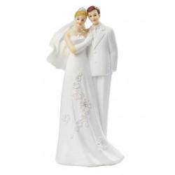 Hochzeitspaar, 14 x 6,5 cm