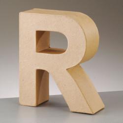 Kartonbuchstabe R, klein