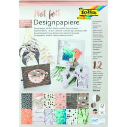 Designpapierblock HOTFOIL III 165g/m², DIN A4