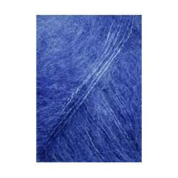 "Lang ""Mohair Luxe"", blau"