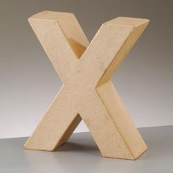 Kartonbuchstabe X, klein