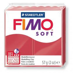 Fimo soft, kirschrot, 56g