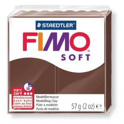 Fimo soft, schoko, 56g