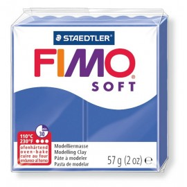 Fimo soft, brillantblau, 56g