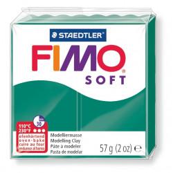 Fimo soft, smaragd, 56g