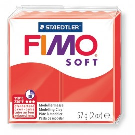 Fimo soft, indischrot, 56g