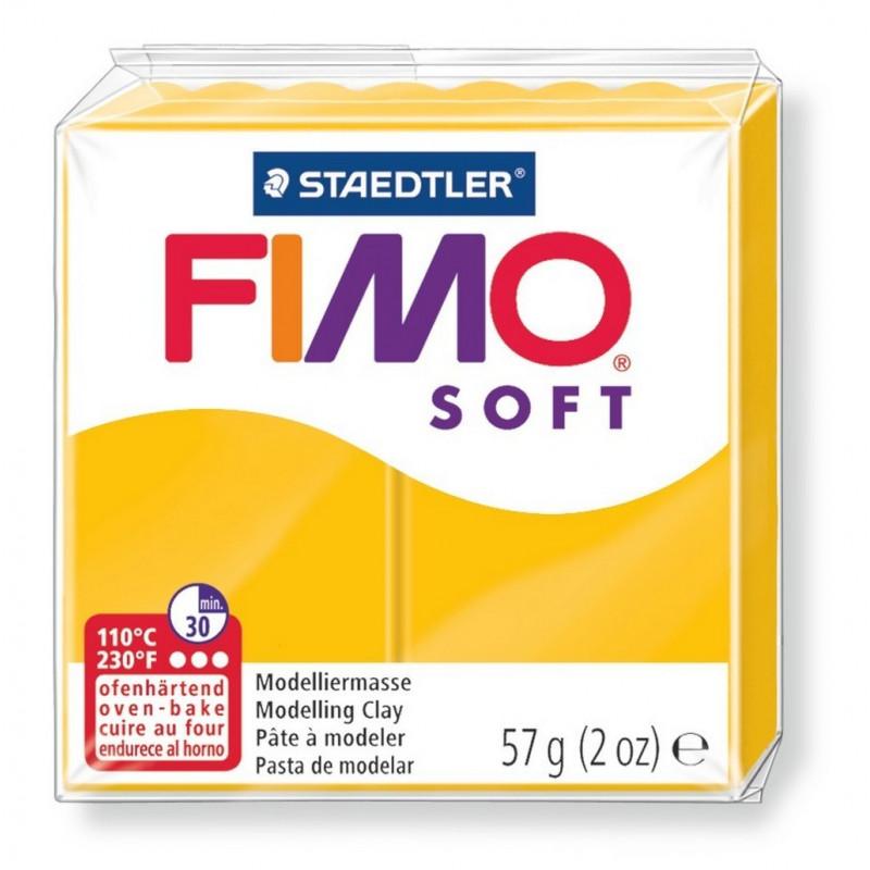 Fimo soft, sonnengelb, 56g