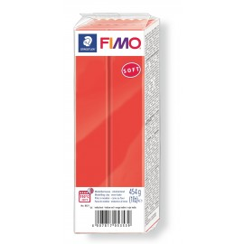 Fimo soft, indischrot, Grossblock 350g