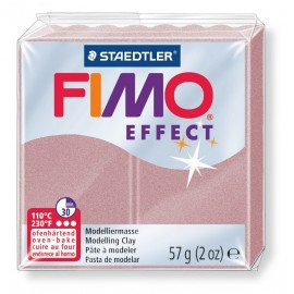 Fimo effect, pearl, roségold, 57g